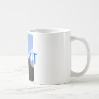 Verfolgung Kaffeetasse