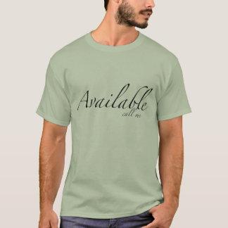 verfügbar T-Shirt
