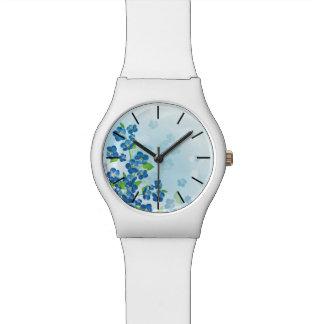 Vergessen Sie mich nicht Uhr der Blumen-May28th