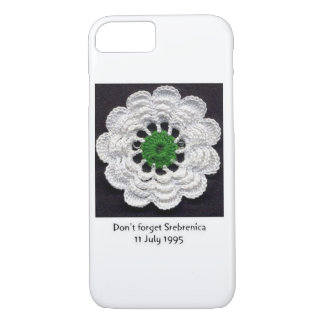 Vergessen Sie nie Srebrenica iPhone 7 Fall iPhone 8/7 Hülle