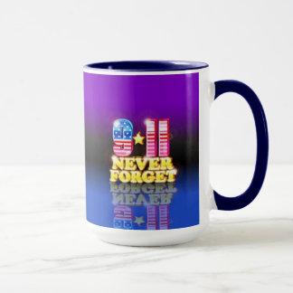 Vergessen Sie nie Tasse