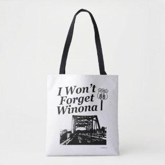 Vergessen Sie nie Winona Weg 66 Tasche