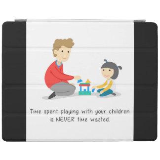 Vergeuden Sie nicht Zeit - iPad Fall iPad Hülle