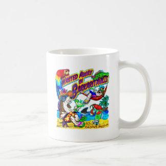 Vergeudet weg in Barkaritaville Kaffeetasse