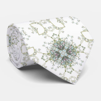 Vergissmeinnichtmuster Individuelle Krawatte