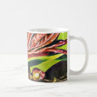 Vergrößerte Wirklichkeit Kaffeetasse