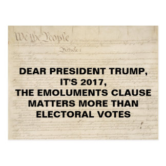 Vergütungs-Klausel-nicht Stimmen für die Postkarte