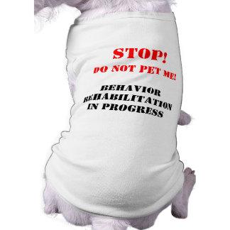 Verhalten-Rehabilitations-Hundet-shirt T-Shirt