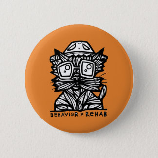 """""""Verhalten-Rehabilitations-"""" runder Knopf Runder Button 5,1 Cm"""