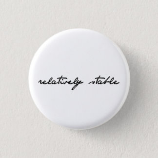 Verhältnismäßig stabiler Knopf Runder Button 3,2 Cm