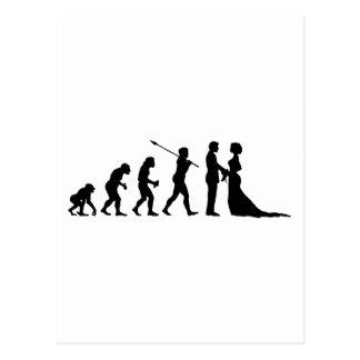 Verheiratet Postkarte