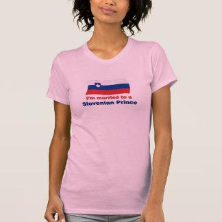 Verheiratet zu einem slowenisch Prinzen T-Shirt