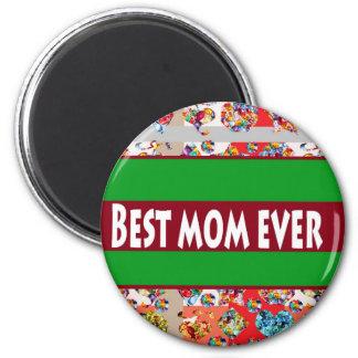 VERKAUF Geschenke für Mammen MothersDay Mutter-Tag Runder Magnet 5,7 Cm