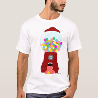 Verkauf-Zunge - gumball Verkaufäutomat T-Shirt