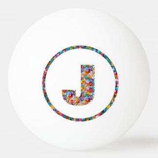 VERKAUFSPREIS-ALPHABET-KUNST JJJ 3* Klingeln Pong Tischtennis Ball