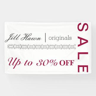 Verkaufszeichen für Handwerksstand Banner