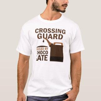 Verkehrspolizei-(lustige) Schokolade T-Shirt