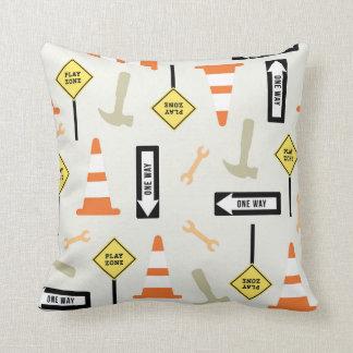 Verkehrszeichen-Wohngestaltung Kissen