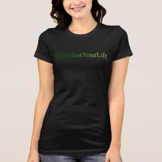 VERKÜNDEN Sie IHR LEBEN (TM) schwarzes T-Shirt