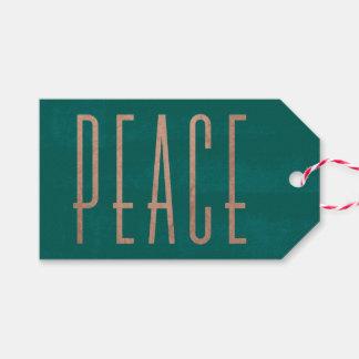Verkürzter Friedensweihnachtsgeschenk-Umbau Geschenkanhänger