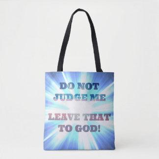 Verlassen Sie dem Gott Urteil