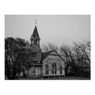 Verlassene Presbyterianische Kirche - Postkarte