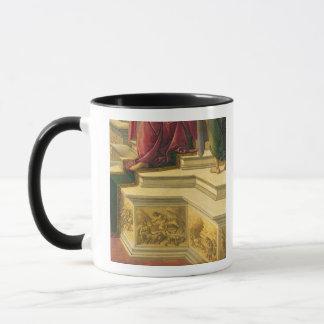 Verleumdung von Apelles: Detail, das Teil der Tasse