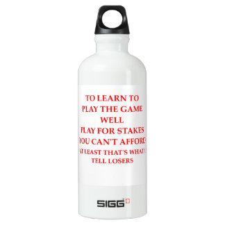 Verlierer Wasserflasche