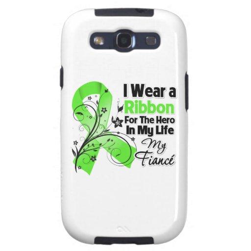 Verlobte-Held in meinem Leben-Lymphom-Band Samsung Galaxy S3 Schutzhülle