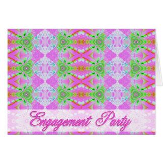 Verlobungs-Party Einladung Grußkarte