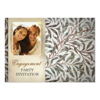 Verlobungs-Party Einladungen mit Foto