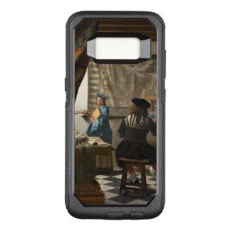 Vermeer Kunst der Malerei OtterBox Commuter Samsung Galaxy S8 Hülle