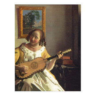 Vermeer Packwagen Delft, Jan. die Postkarte