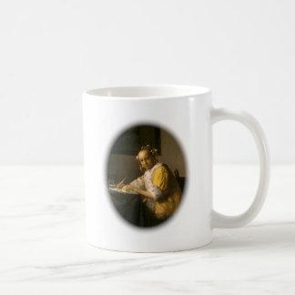 Vermeers Briefschreiber Kaffeetasse