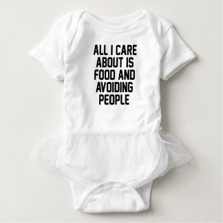 Vermeidung der Leute Baby Strampler