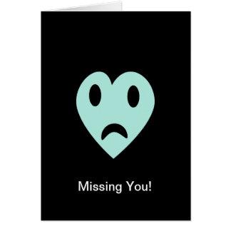 Vermisst Sie Karte