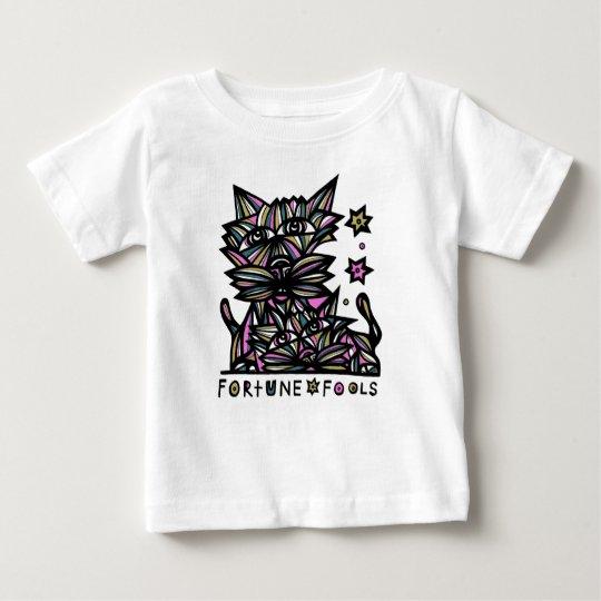 """""""Vermögen täuscht"""" Baby-T - Shirt"""