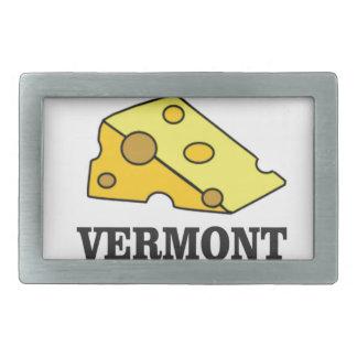 Vermont-Cheddarkäse Rechteckige Gürtelschnallen