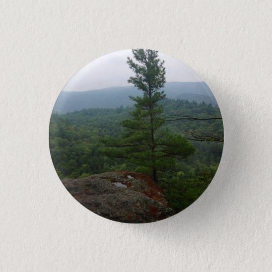 Vermont-Wald Runder Button 2,5 Cm
