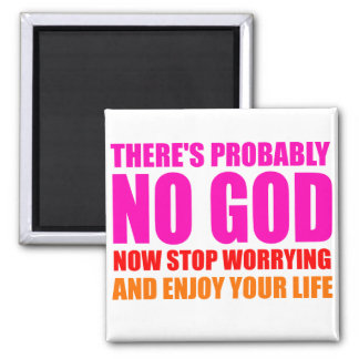 Vermutlich kein Gott Quadratischer Magnet