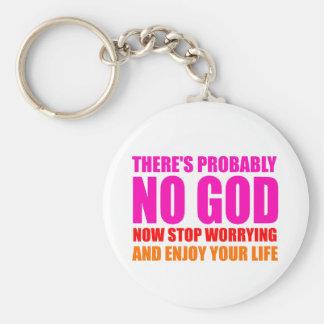 Vermutlich kein Gott Schlüsselanhänger