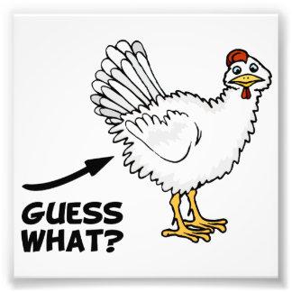 Vermutung welcher Huhn-Hintern Fotos
