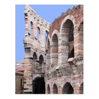 Verona-Arena - Postkarte Veronas, Italien