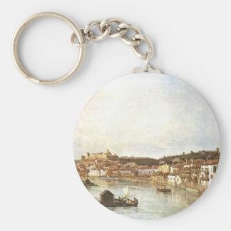 Verona Vedute durch Bernardo Bellotto Schlüsselanhänger