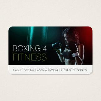 Verpacken für Fitness-persönlicher Visitenkarte
