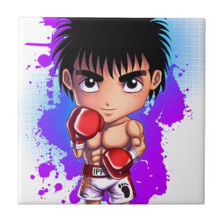 Verpacken Guyboxing, Boxer, chibi, manga, Fliese