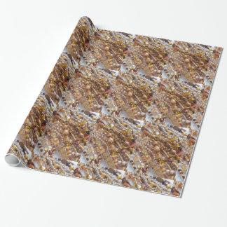 Verpackungs-Papier-Erdton-Perlen-Druck Einpackpapier