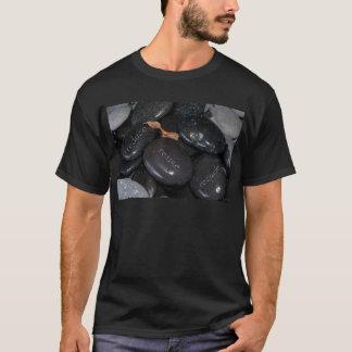 verringern Sie Wiederverwendung recyle Felsen T-Shirt