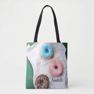 Verrückt für personalisierte Taschen-Tasche der Tasche