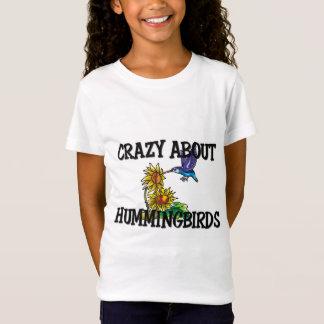 Verrückt über Kolibris T-Shirt